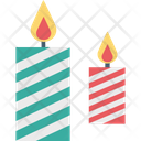 Candle Candle Burning Decoration Icon