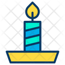 Candle Candle Stand Celebration Icon