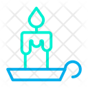 Candle Stand Darkness Holder Icon