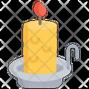 Candle Light Holidays Icon