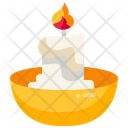 Candle Bowl Icon