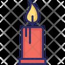 Candle burning Icon