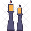 Candle Holder Decor Icon