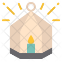 House Candle Holder Icon