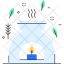 Candle Lamp Icon