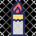Candle Light Burning Candle Candle Icon