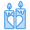 Candle Light Candles Valentine Icon