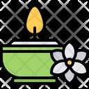 Candle massage Icon