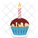 Candle Muffin Icon