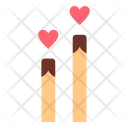 Candle Love Romance Icon