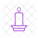 Memorial Torch Candle Icon