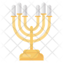 Menorah Candle Stand Candelabra Icon