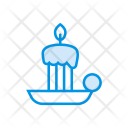 Candle Light Memorial Icon