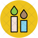 Candles Halloween Candle Icon