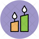 Candles Wedding Burning Icon