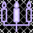 Candles Light Birthday Icon