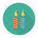 Candles Lamp Light Icon