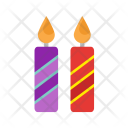 Candles Two Icon