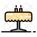 Candles Decor Restaurant Icon