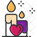 Candles Dating Candle Heart Candle Icon