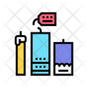 Homemade Candles Color Icon