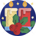 Christmas Candles Candle Icon