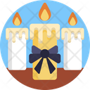 Funeral Candles Light Icon