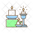 Candle Holder Decoration Icon