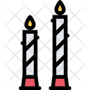 Candles Love Relationship Icon