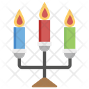 Candles with Stand Icon