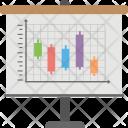 Candlesticks Technical Analysis Icon