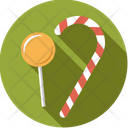 Candy Lollipop Candcane Icon