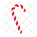 Candy Christmas Candy Cane Icon