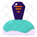 Grave Halloween Decoration Icon