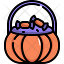 Candy Basket Sweet Icon