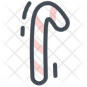 Candy Christmas Decoration Icon