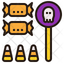 Candy Treat Halloween Icon