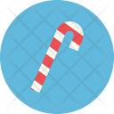 Candy Cane Christmass Icon