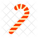 Candy Cane Stick Icon