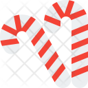 Candy Sweet Cane Icon