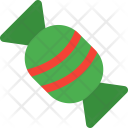Xmas Candy Toffee Icon