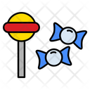 Candy Lollypop Toffee Icon