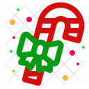 Christmas Candy Ribbon Icon