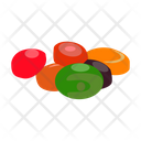 Candy Balls Jawbreakers Jawburster Icon