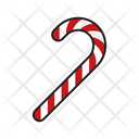 Candy Cane Food Candy Icon