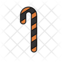 Candy Cane Halloween Icon