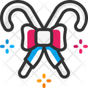 Stick Candy Candy Cane Icon