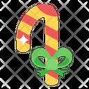 Lollipop Candycane Rattle Pop Icon