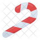 Candy Cane Confetti Icon