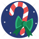 Rod Candy Christmas Icon